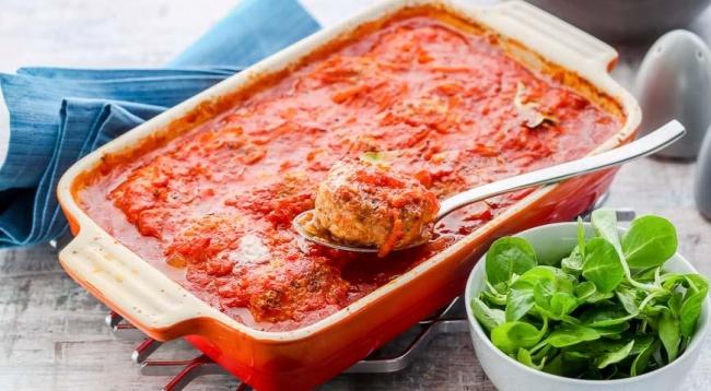 Биточки мясные в томатном соусе - «Блюда из мяса»