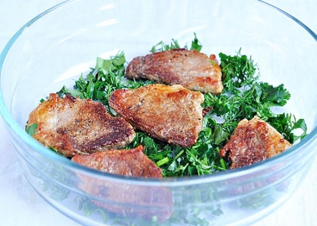 Мясо по-цыгански - «Блюда из мяса»
