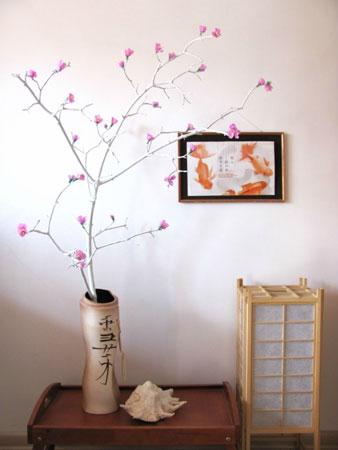 Ветка сакуры: поделка своими руками к 8 марта. Подарок и украшение - «Досуг и хобби»