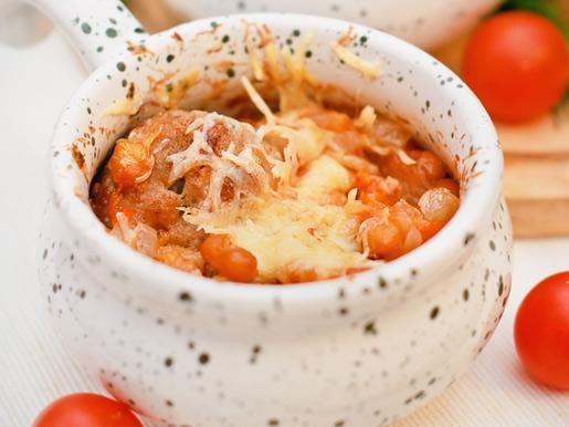Тефтели с фасолью, запеченные в горшочках - «Второе блюдо»