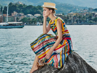 Яркая юбка-карандаш - «Мода»