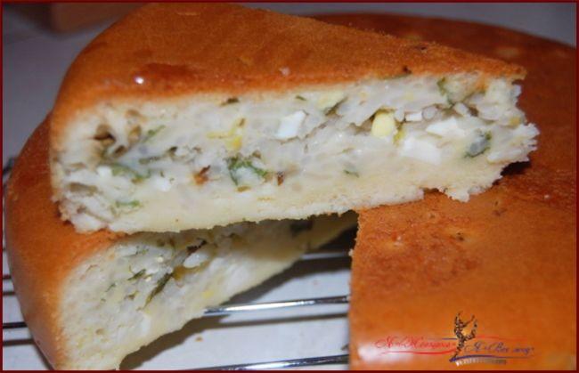 Заливной пирог - это просто, быстро и вкусно