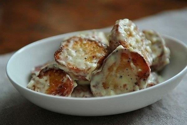 Простой картофельный салат по-испански - «Закуски»
