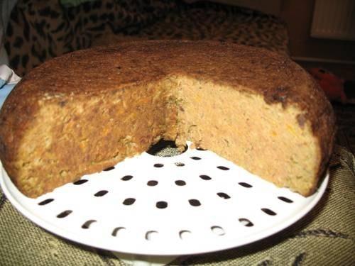 Печеночный пирог в мультиварке - «Второе блюдо»