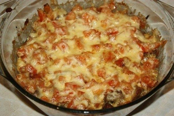Куриная печень с помидорами по-милански - «Второе блюдо»
