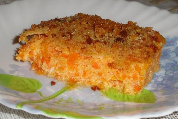 Запеканка из творога с морковью и яблоком - «Второе блюдо»