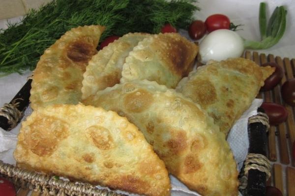 Болгарские чебуреки с творогом по-домашнему - «Второе блюдо»