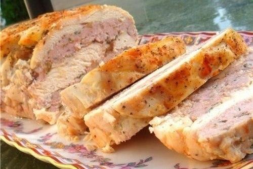 Голландский пудинг из курицы - «Второе блюдо»