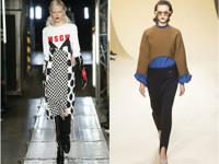 Брюки со штрипками и платья - «Мода»