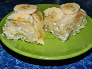 Рисовая запеканка с бананами - «Второе блюдо»