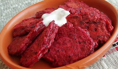 Драники из свеклы и картофеля - «Второе блюдо»