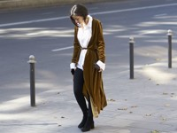 Выбирайте верхнюю одежду из вельвета - «Мода»