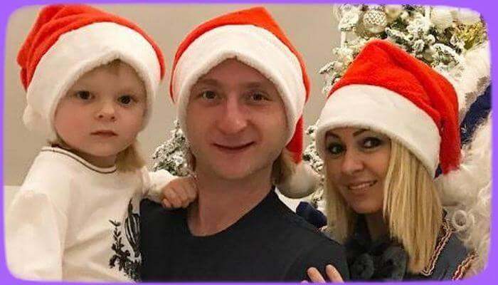 Сын Рудковской и Плющенко пострадал в войне Щелкунчиков - «Шоу-Бизнес»