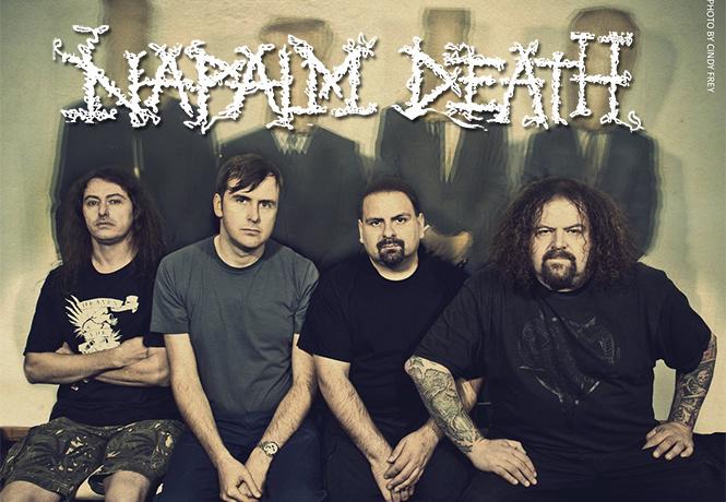 5 причин заглянуть на огонёк группы Napalm Death