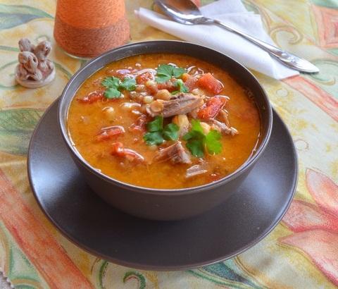 Харира - африканский утренний суп - «Первое блюдо»
