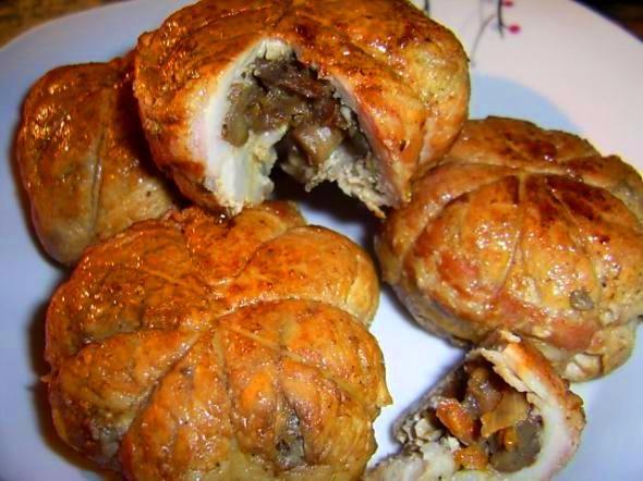 Мясные колобки с начинкой - «Блюда из мяса»
