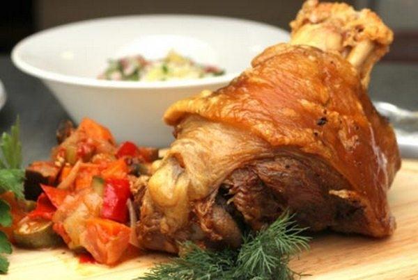 Свиная рулька «Хаскл» в духовке - «Блюда из мяса»