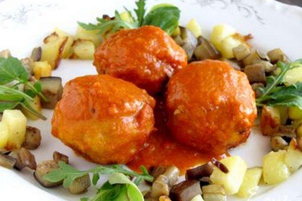 Мясные тефтели в апельсиново-томатном соусе - «Блюда из мяса»
