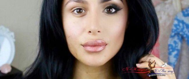 Новый тренд в макияже: наносить косметику лишь на одну половину лица