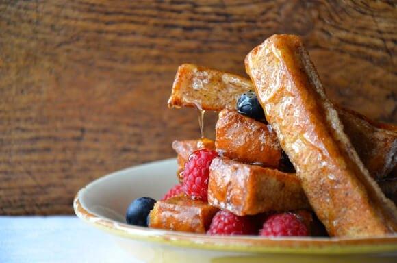 Французские тосты с корицей - «Закуски»