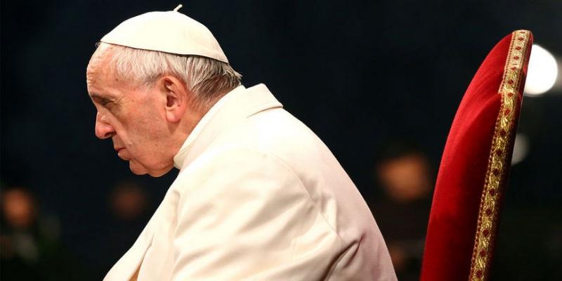 Папа отчитает Украину - «Бизнес»
