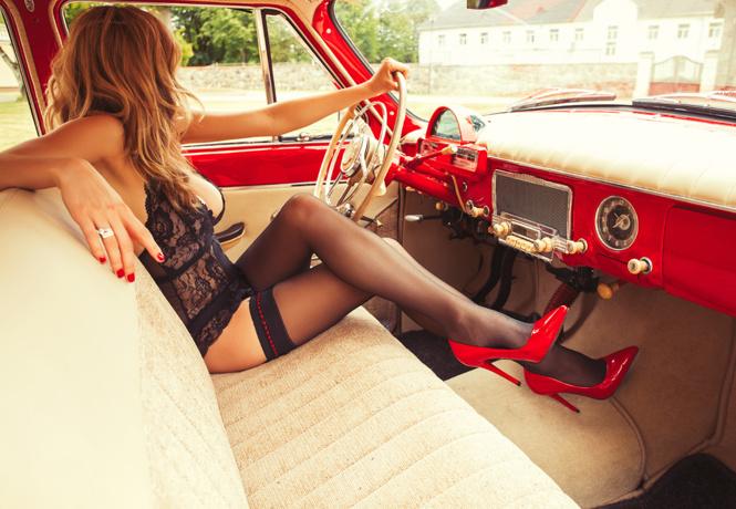 Памятка джентльменам, которых возят на автомобиле дамы