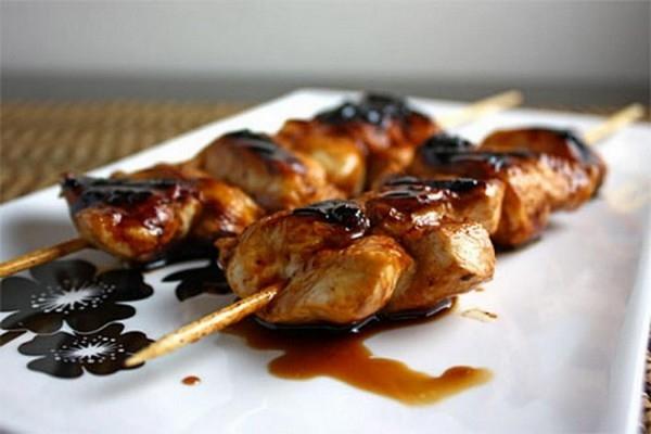 Шашлычки «Якитория» из куриной грудки - «Второе блюдо»