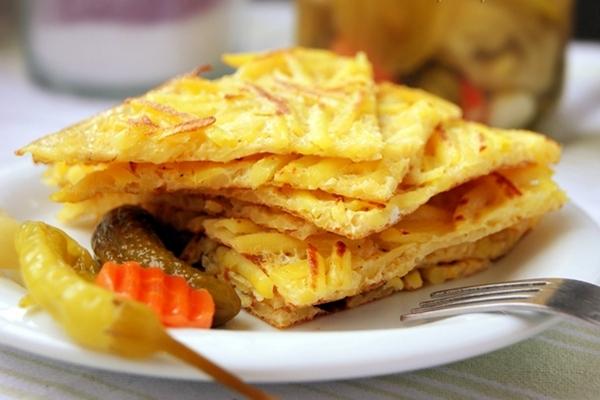 Картошечка «Скоростная» на сковороде - «Второе блюдо»