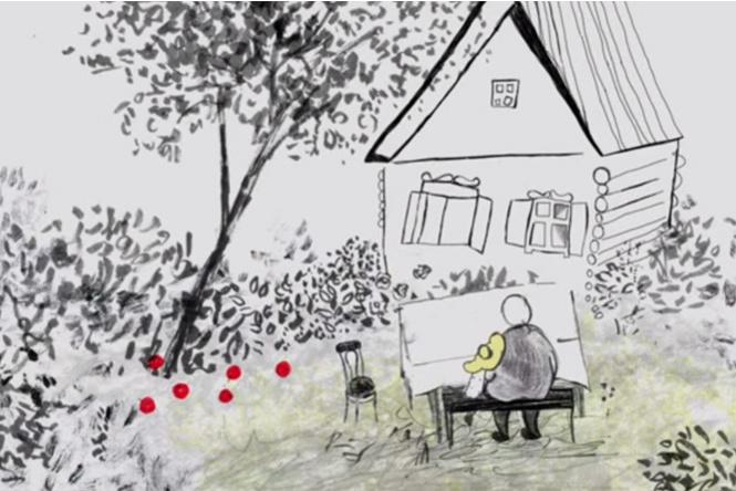 Пожалуй, лучший в мире мультфильм про бабушку