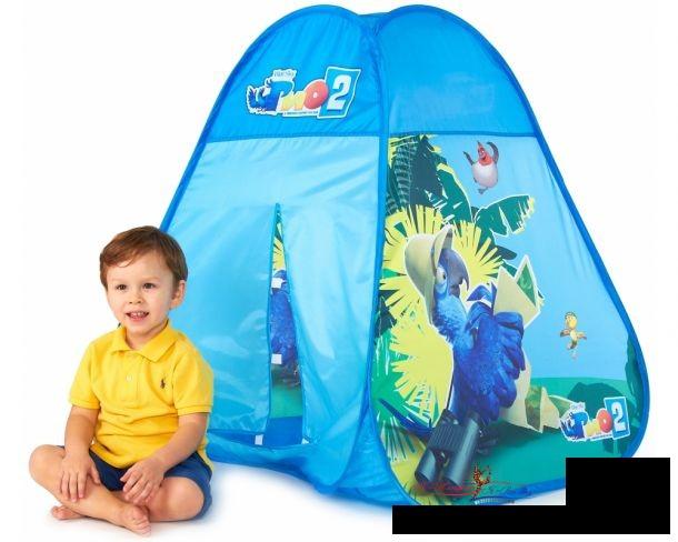 Детская палатка – уютный домик для весёлых игр