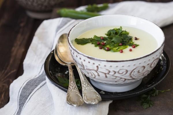 Картофельный крем-суп на молоке - «Первое блюдо»