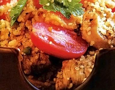 Марокканский кускус - «Второе блюдо»