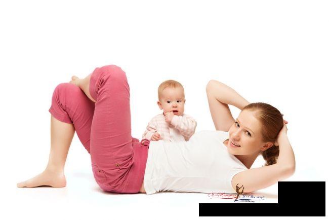 Как похудеть после родов? 5 советов