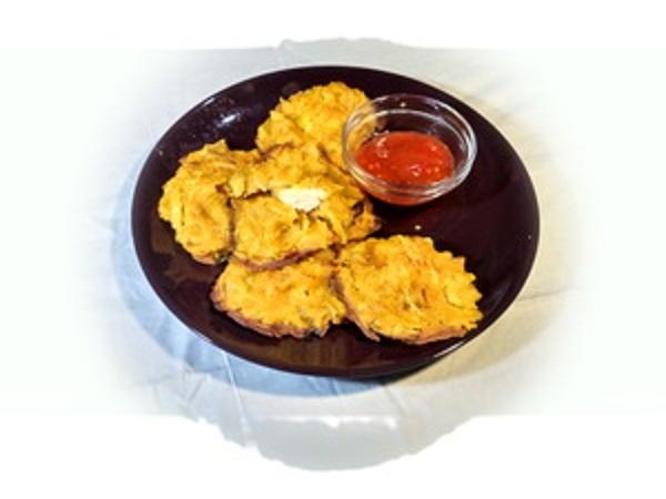 Луковая закуска с начинкой из куриной грудки (ВИДЕО) - «Закуски»