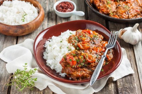 Перкельт из говядины с болгарским перцем - «Второе блюдо»