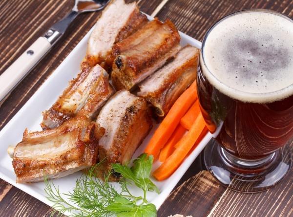 Запеченные говяжьи ребра с колой - «Блюда из мяса»