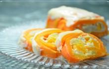 Морковный рулет - «Кулинарные видео рецепты»