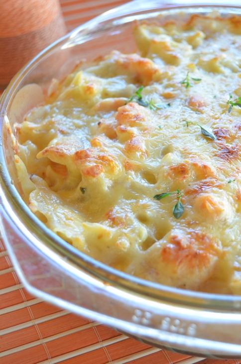 Фарфалле с радужной форелью, запеченные в соусе бешамель - «Второе блюдо»