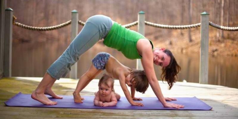 Знакомьтесь: бэби йога - «Здоровье»
