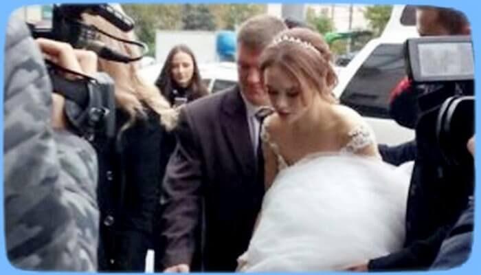 Краткий репортаж о свадьбе Дианы Шурыгиной - «Шоу-Бизнес»