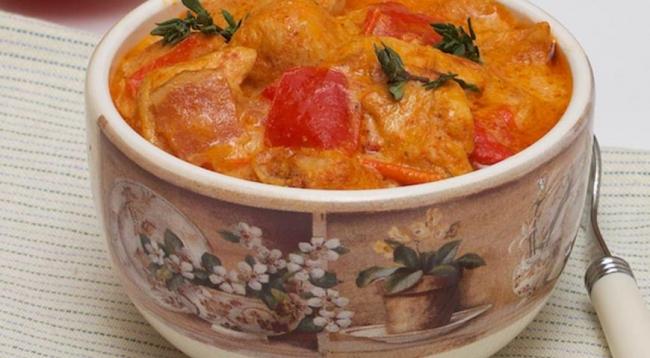 Куриное филе Паприкаш - «Второе блюдо»