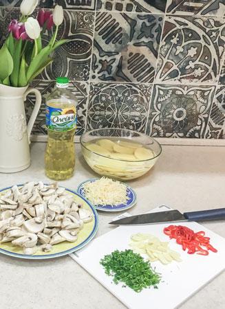 Картошка с грибами в духовке: рецепт от Марии Куликовой - «Дом»