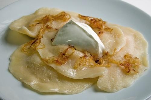 Вареники с сыром и картошкой - «Второе блюдо»
