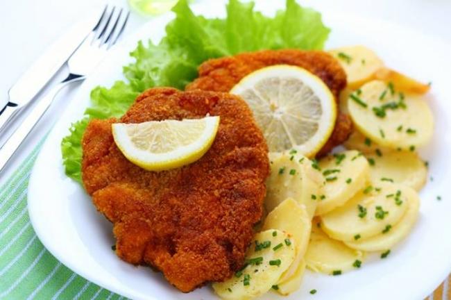 Шницель «Венский» - «Блюда из мяса»
