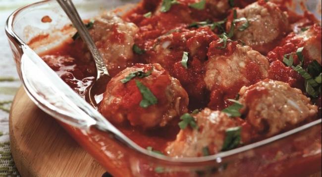 Острые свиные тефтели - «Блюда из мяса»