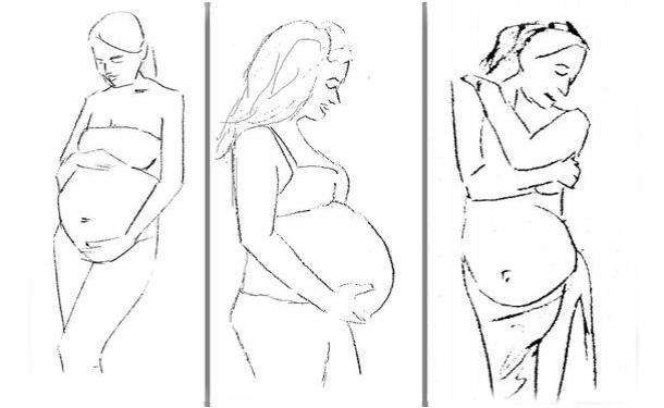 Позы для секси для беременой