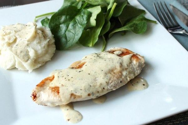 Куриное филе в сливочном соусе на скорую руку - «Второе блюдо»