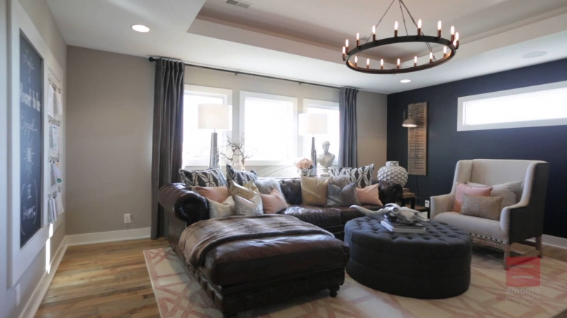 Vintage Modern Home - Interior Design by Falcone Hybner Design, Inc  - «Видео советы»