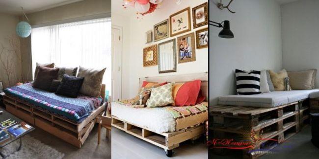 Недорогие и оригинальные идеи для дома с паллетами