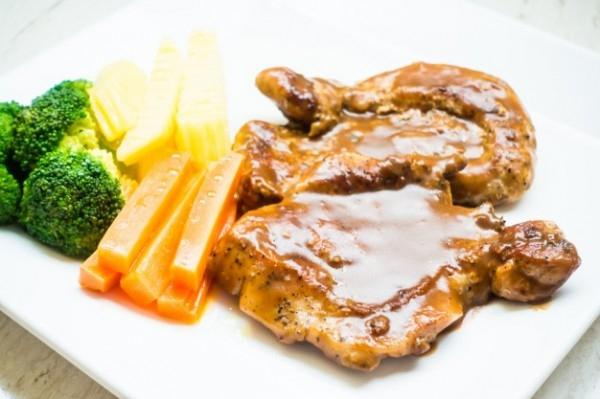 Жареное свиное филе с пряным соусом - «Блюда из мяса»